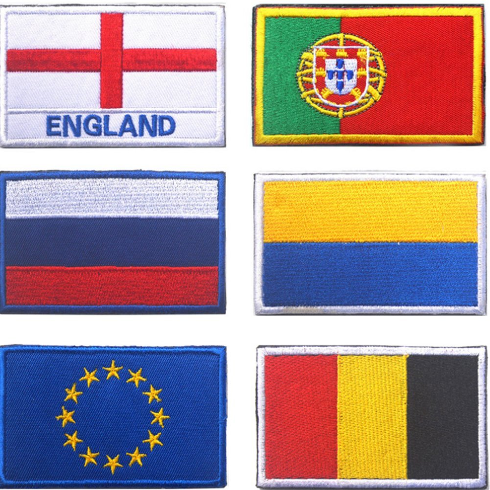 Portugal Nider Flag Armband Outdoor Flags Flag Patch Embroidery Armband Chic Countries Flag Magic Armband Stickers Patches