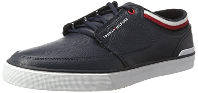 Mens H2285arrington 8a Low-Top Sneakers, Midnight Nero Tommy Hilfiger