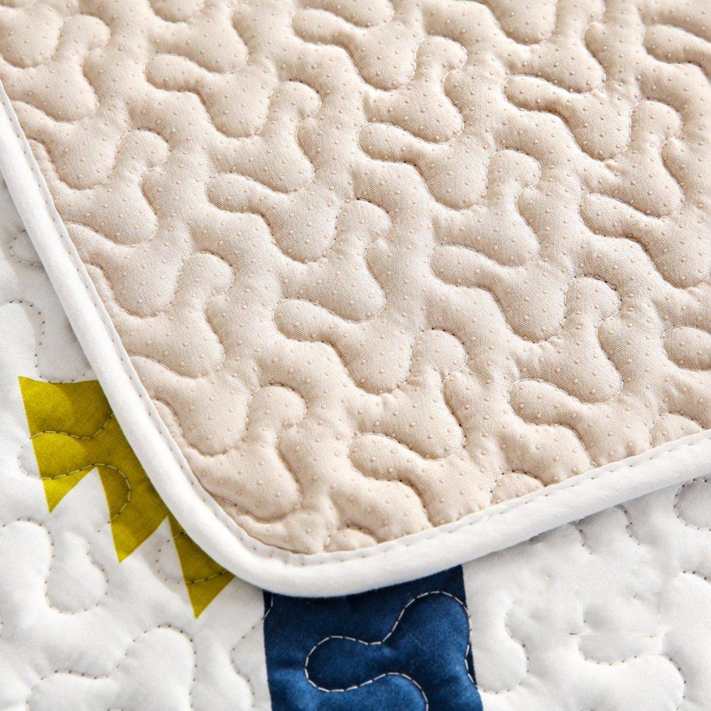 Tapetes decorativos alfombra moderna rectángulos de algodón para ...