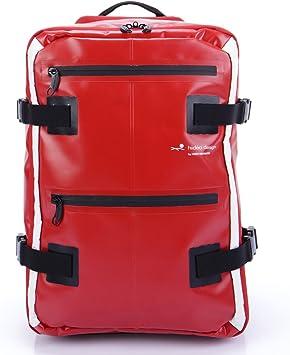 Hideo Wakamatsu Tarpaulin Hybrid Backpack Trolley Suitcase Red Amazon Ca Luggage Bags