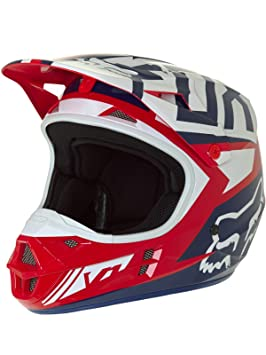 Casco Fox V1 Falcon Rojo Talla S