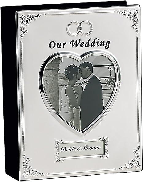 Silverplated Wedding Keep Sake Box 6x4