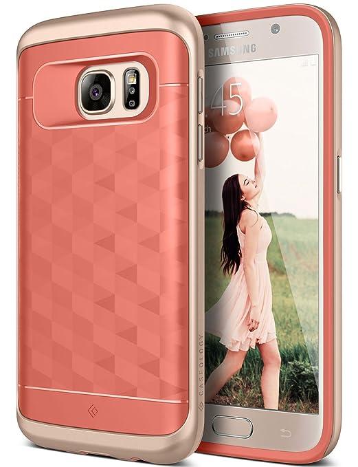 4 opinioni per Custodia Galaxy S7, Caseology [Serie Parallax] Cover, Protettiva Sottile