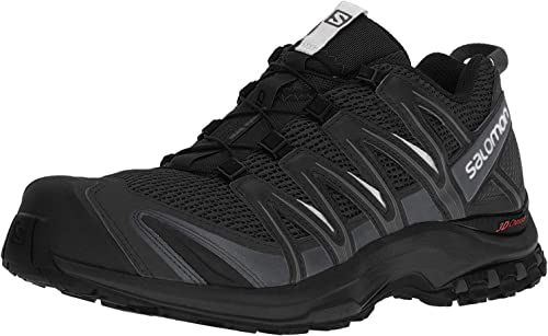 Salomon Men s XA PRO 3D Trail Runner, Black, 13 M US