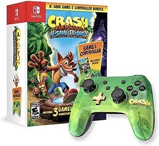 Crash Bandicoot: N. Sane Trilogy & Controller Bundle – Nintendo ...