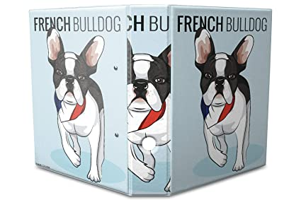 Archivador A4 Carpeta 2 anillas 60mm impreso bulldog francés