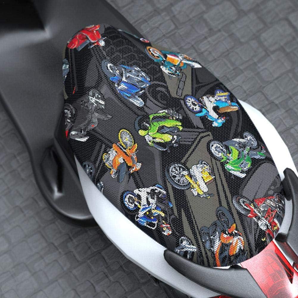 likeitwell Ganzj/ähriger wasserdichter Motorrad-Sitzbezug Universeller Flexibler Schutz-Sitzbezug f/ür die meisten Scooter Moped Sport Adventure Touring Cruiser-Motorr/äder
