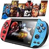 Vídeo Game Portátil Game Player, Consola de jogos Classic Dual-Shake Consola de jogos 8G integrada para 1000 jogos