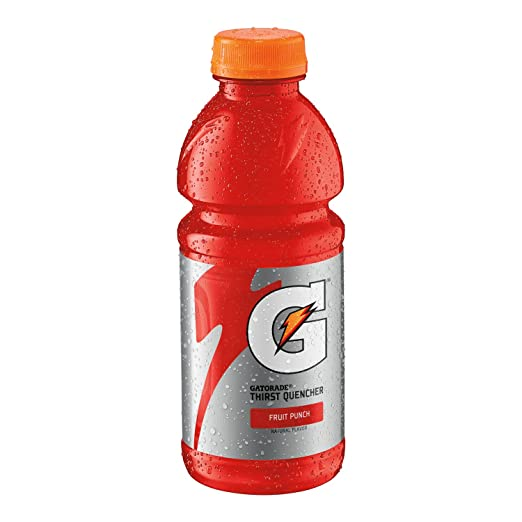 amazon com gatorade thirst quencher fruit punch 20 ounce pack of