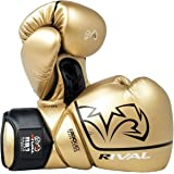 RIVAL Boxing RS1 2.0 Ultra Pro Lace-Up Sparring Gloves - 18 oz. - Gold
