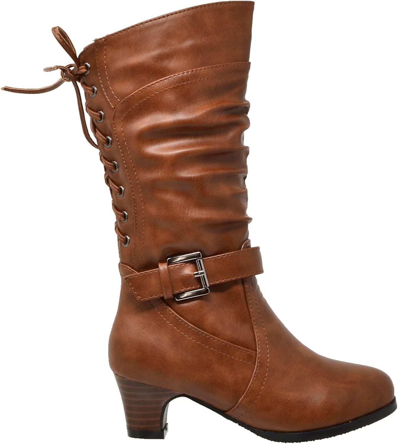 brown boots for little girls