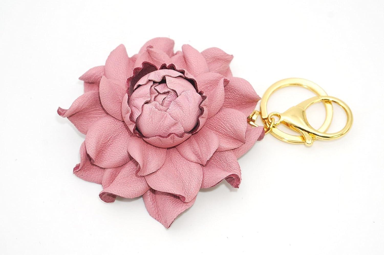 Pink Flower Letter K Foldable Purse Hanger