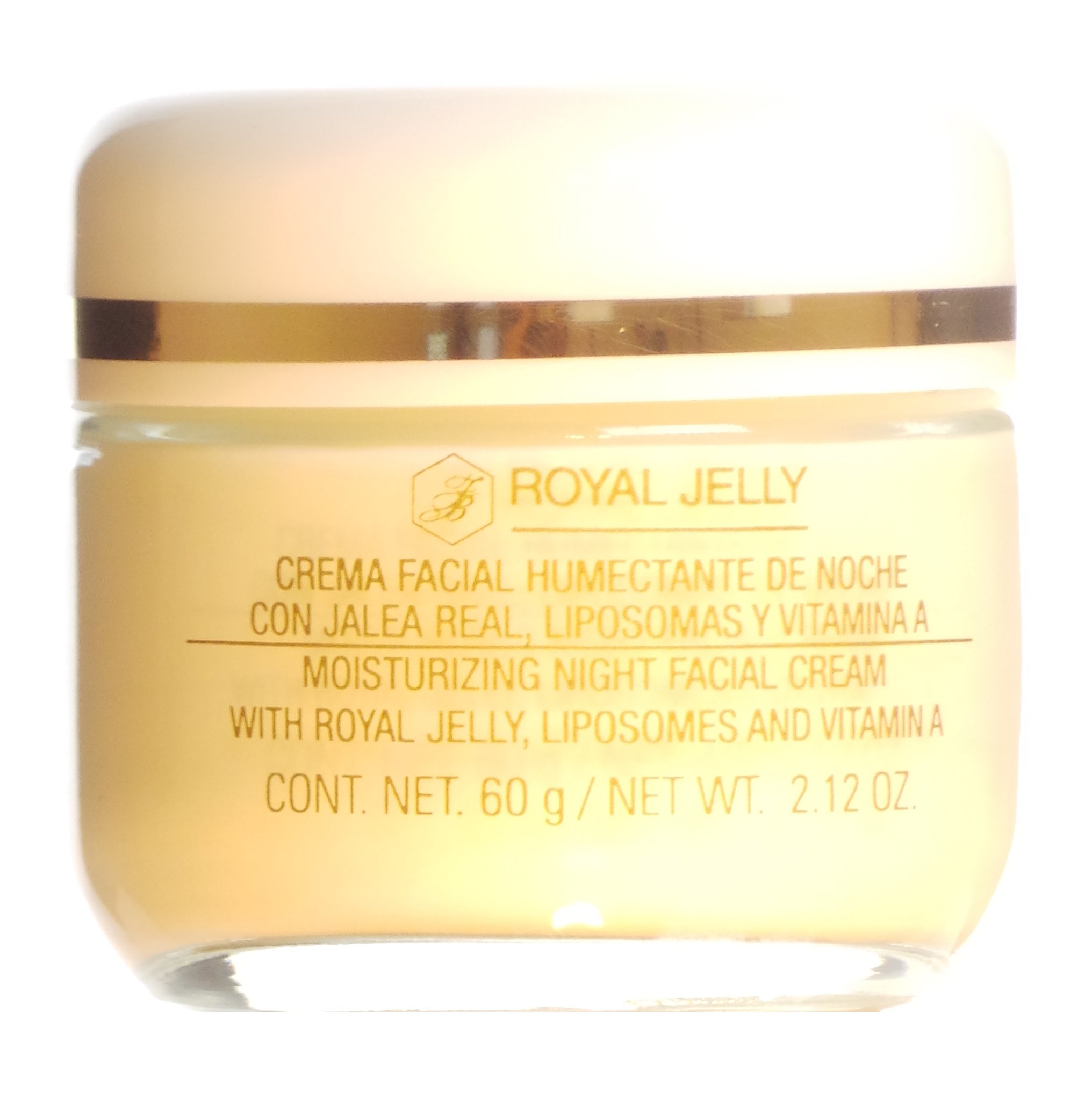 Armand Dupree Moisturizing Night Facial Royal Jelly Liposomes Vitamin A 60 g / 2.12 oz SRP