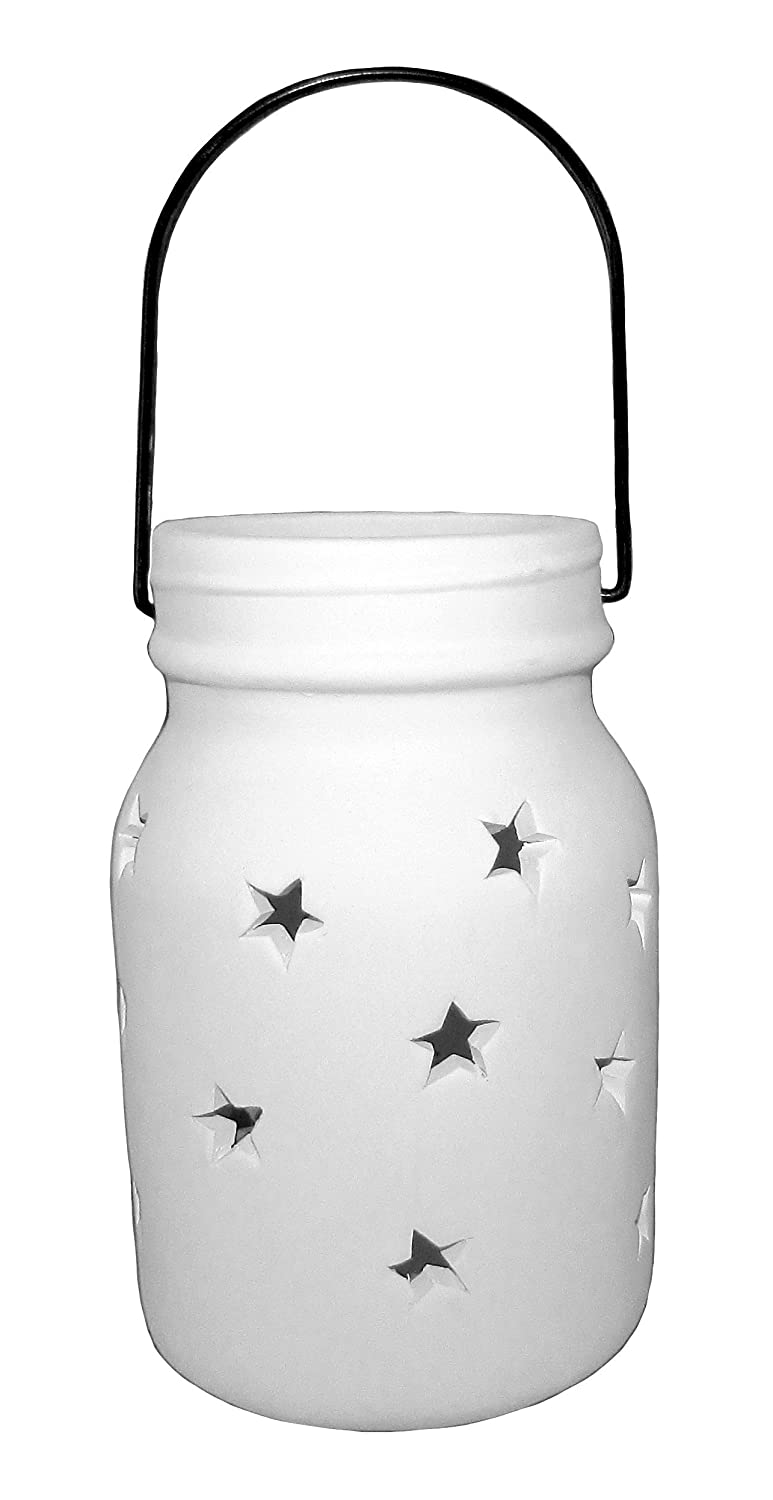 Hanging Star Lantern - Paint Your Own Ceramic Keepsake New Hampshire Craftworks