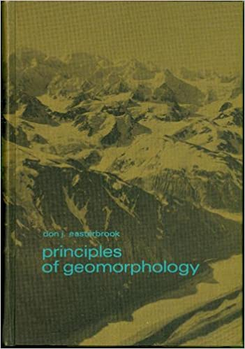 Principles Of Geomorphology D J Easterbrook 9780070187801