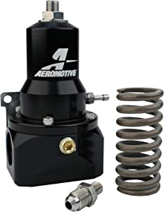 Aeromotive 13134 Fuel Pressure Regulators (Adjustable, 30-120 Psi.500 Valve, (2) Inlets, -10 Return)