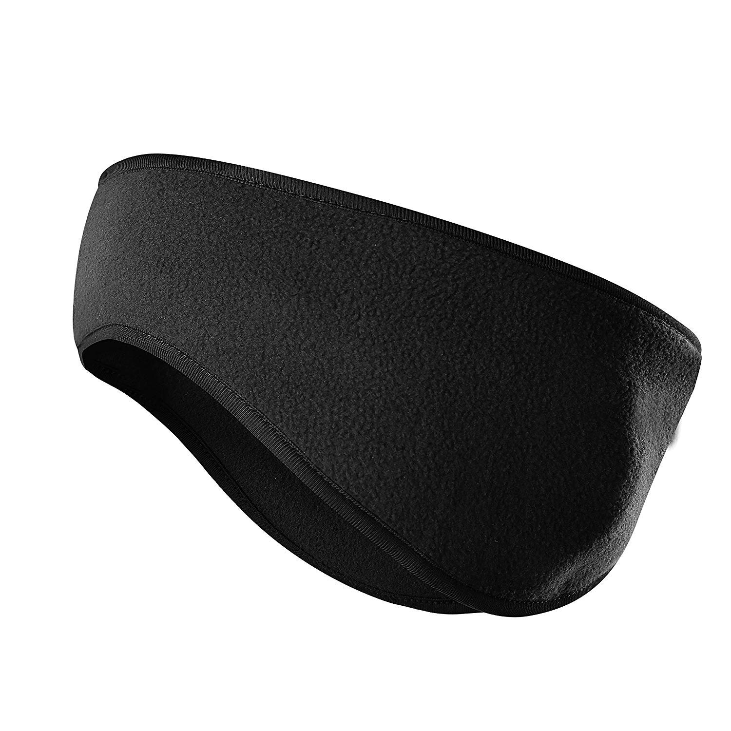Fleece Ear Warmers/Muffs Headband for Men & Women, Perfect for Winter Running Yoga Skiing Riding bike in Cold Freezing Days