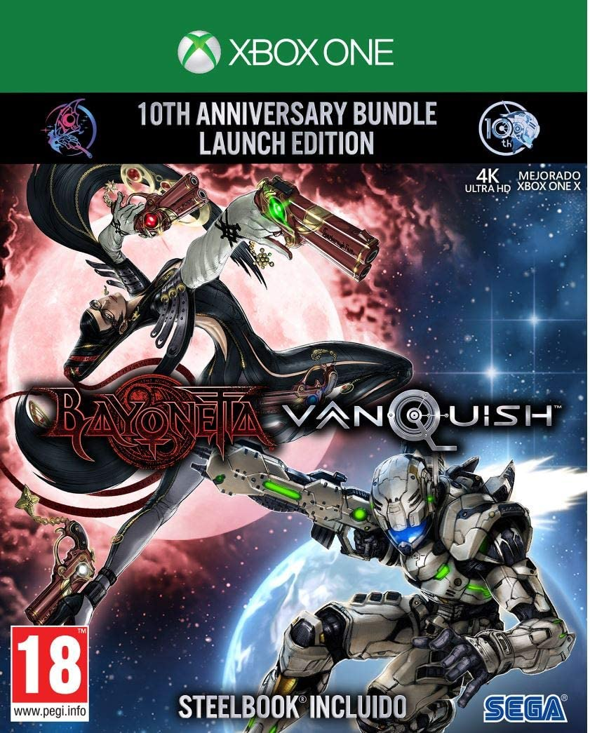 Bayonetta & Vanquish - 10th Anniversary Bundle Limited Edition ...