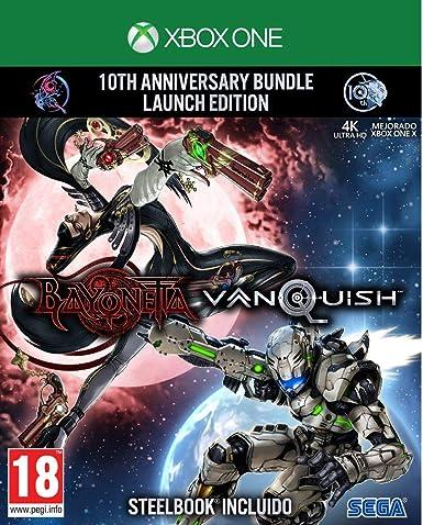 Bayonetta & Vanquish - 10th Anniversary Bundle Limited Edition - Xbox One: Amazon.es: Videojuegos