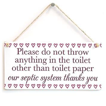 Meijiafei Veuillez Ne Pas Jeter Tout Ce Que Dans Les Toilettes D