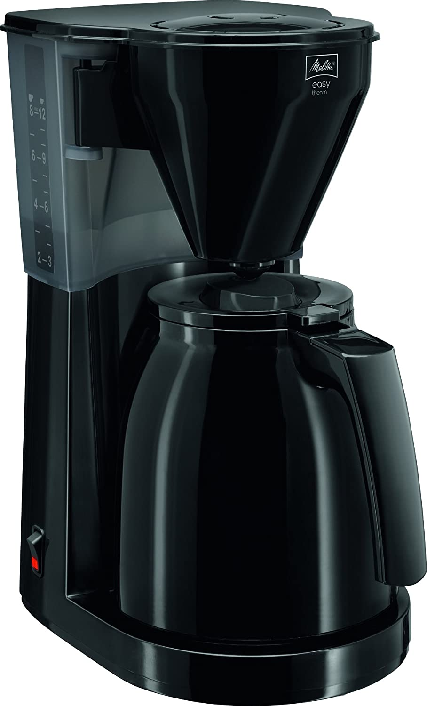 1010-061 Noir 2/ème Verseuse incluse Easy Therm Melitta Cafeti/ère /à Filtre avec Verseuse Isotherme
