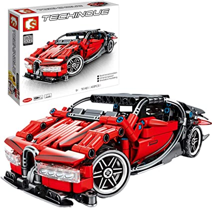Adult Collectible Model Cars Kits To Build 1814 Pieces 1:9 Scale Race Car Model Nifeliz Sports Car X19 MOC Technique Building Blocks and Engineering Toy