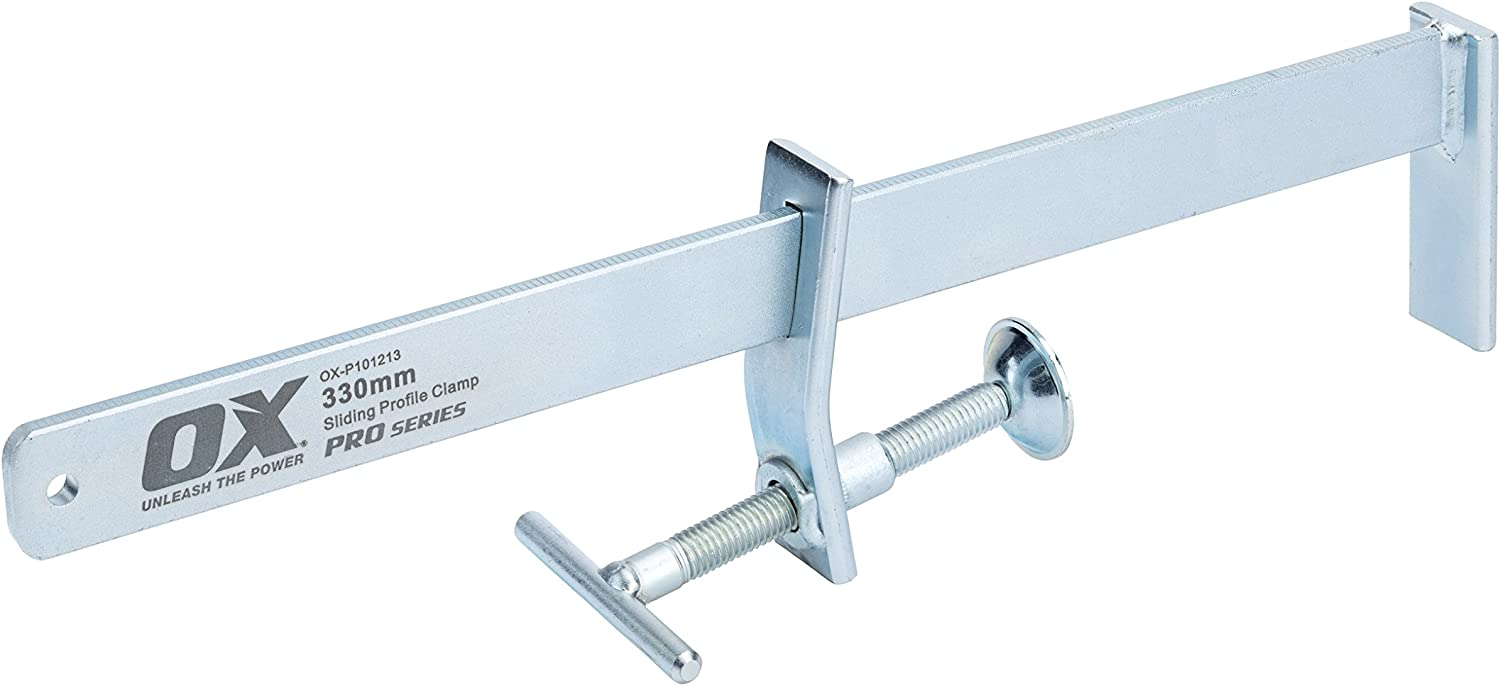 Silver OX Tools P100312 Pro 300mm Profile Clamp 300 mm