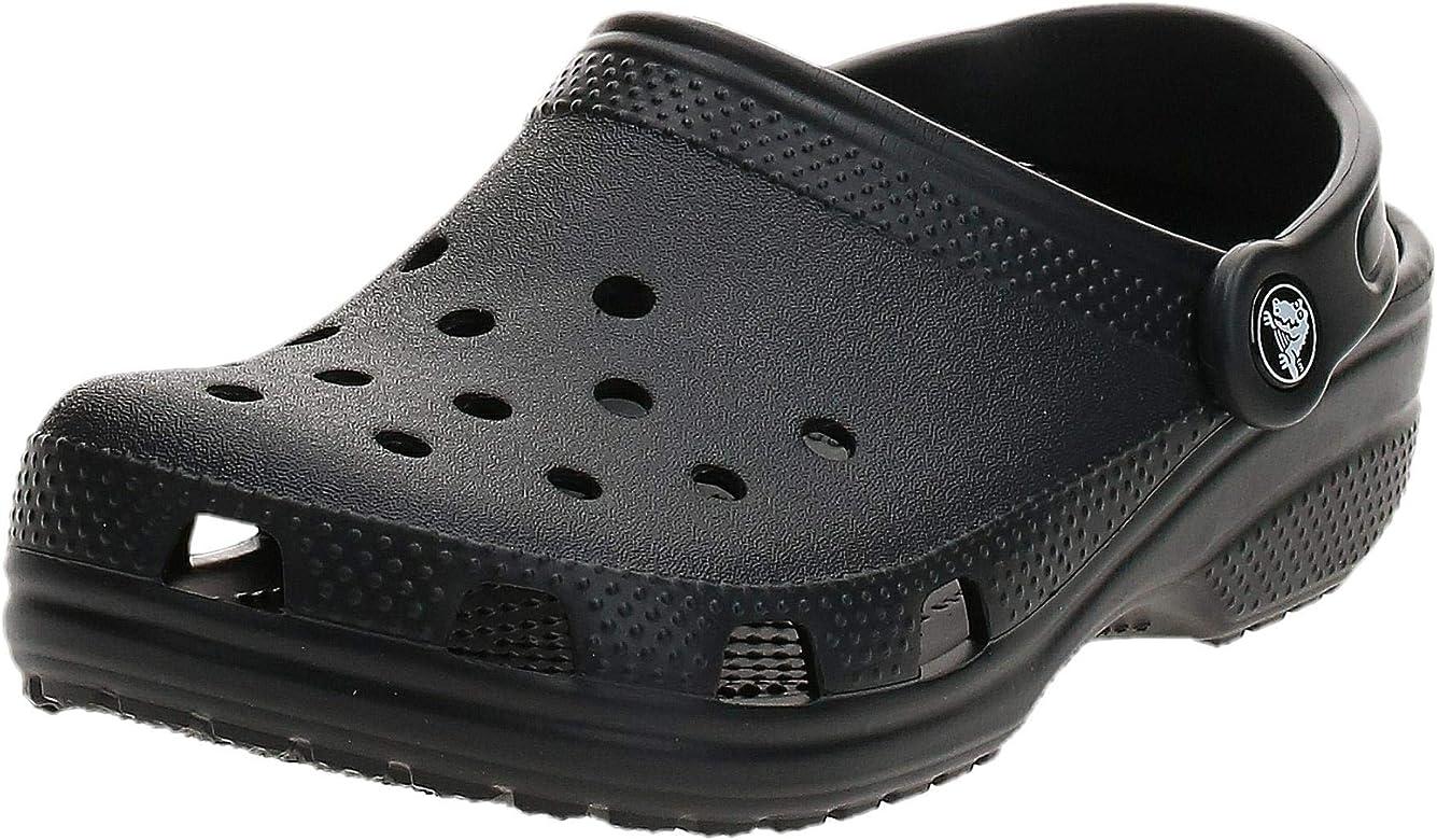 Crocs Unisex Classic Clog, Black, 15 M