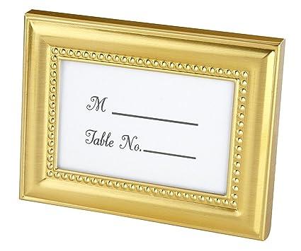 5ba4cf8f8677 Amazon.com - Beautifully Beaded Gold Photo Frame Place Holder ...