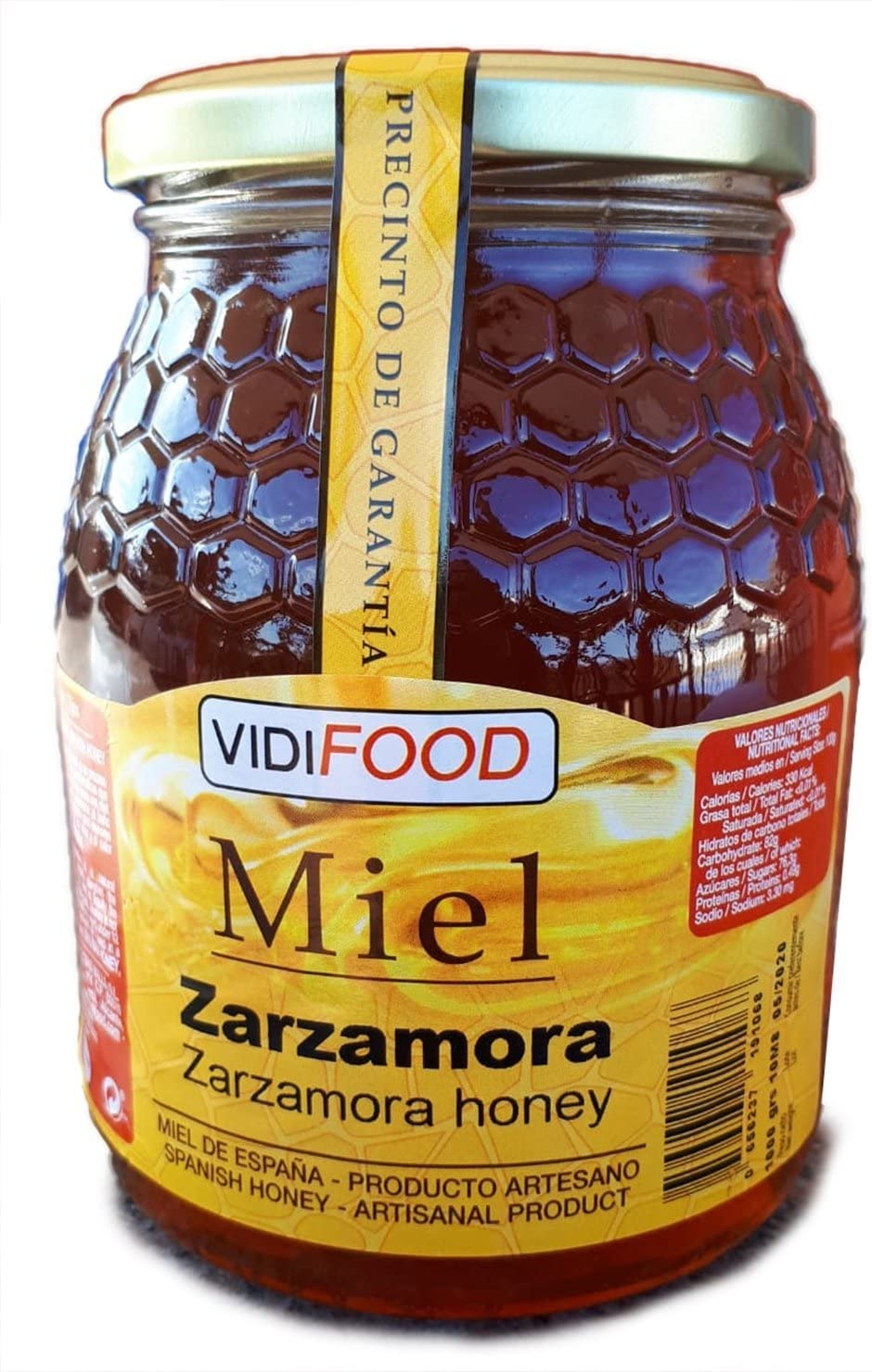Miel de Zarzamora - 1kg - Producida en España - Alta Calidad, tradicional & 100% pura: Amazon.es: Alimentación y bebidas