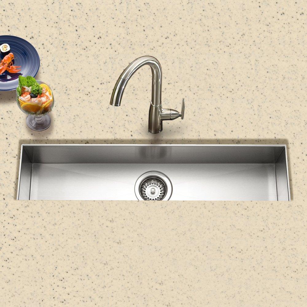 Contempo Trough Bar-Prep Sink: Amazon.co.uk: DIY & Tools