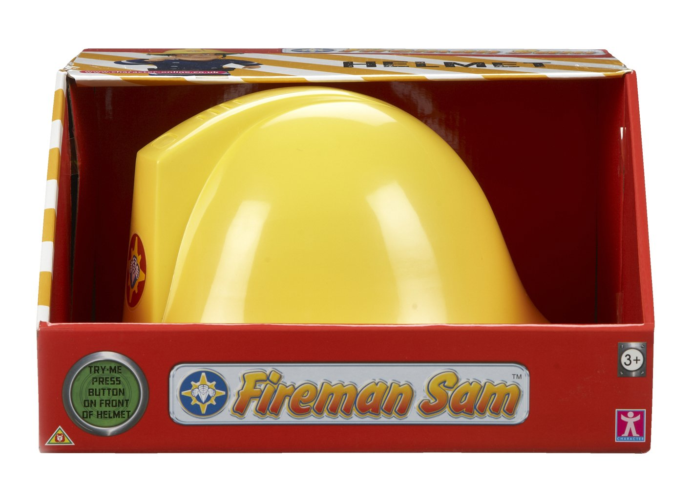 Amazon.com: Character Options Fireman Sam Helmet with Sound: Toys ...