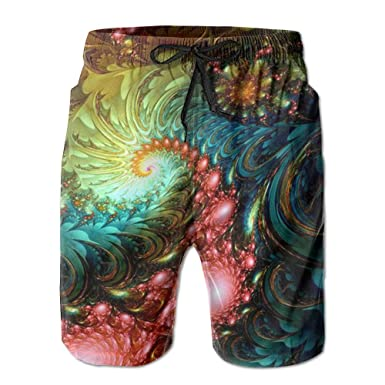 6380c5703d PPANFKEI Art Tie-Dyed Luxury With Liner Mens Boardshorts Swim Trunks Men  Tropical Gym Beach