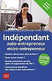 Indépendant, auto-entrepreneur, micro-entrepreneur 2018 (Les guides pratiques pour tous)