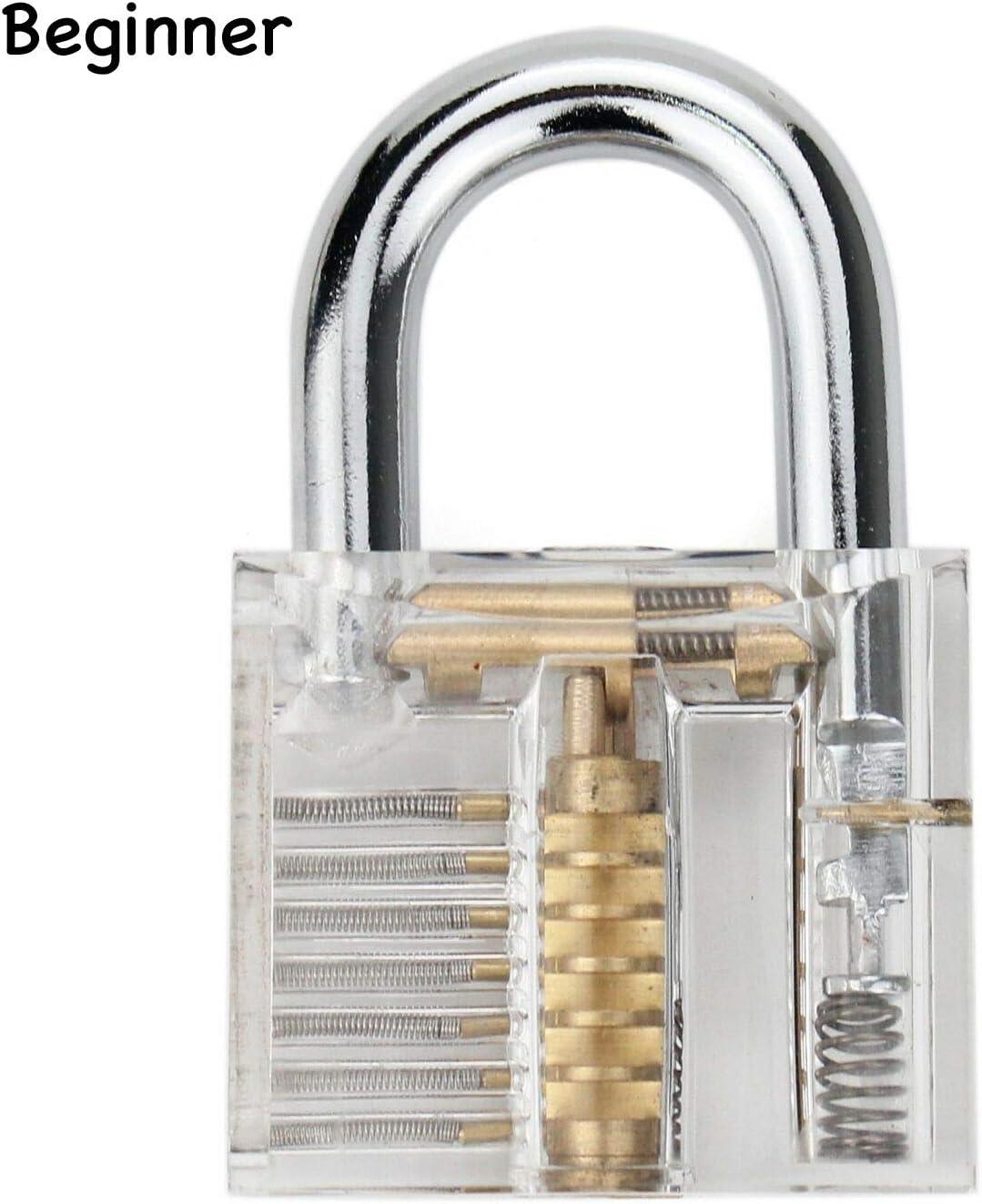 24PCS Lock Set Padlock Multitool Set with Padlock