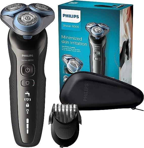 Philips S6640/44 Series 6000 - Afeitadora eléctrica en seco y ...