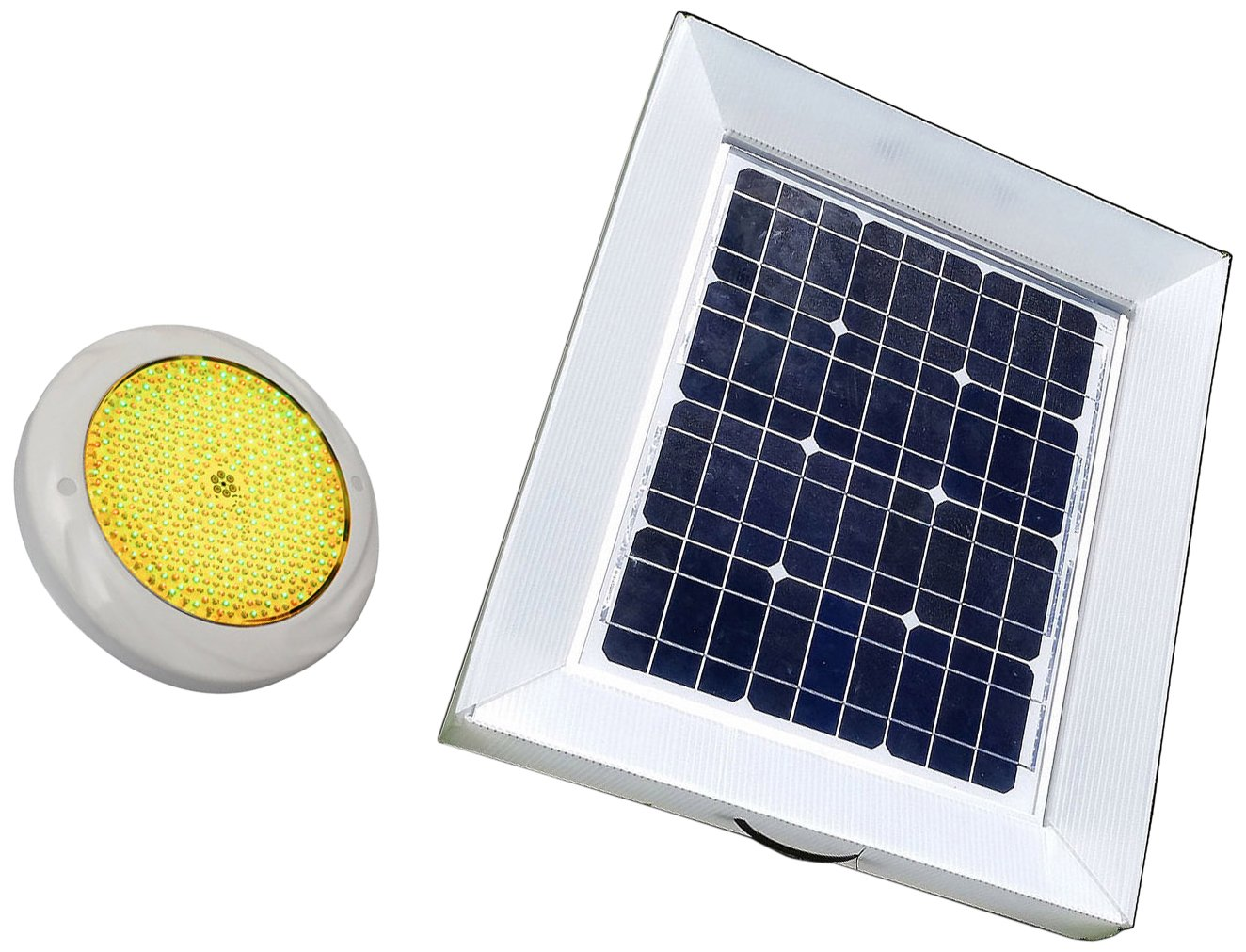 Natural Current NCS30WLTF 30W Solar Powered Pool Spa Pond Light, 5000-Gallon