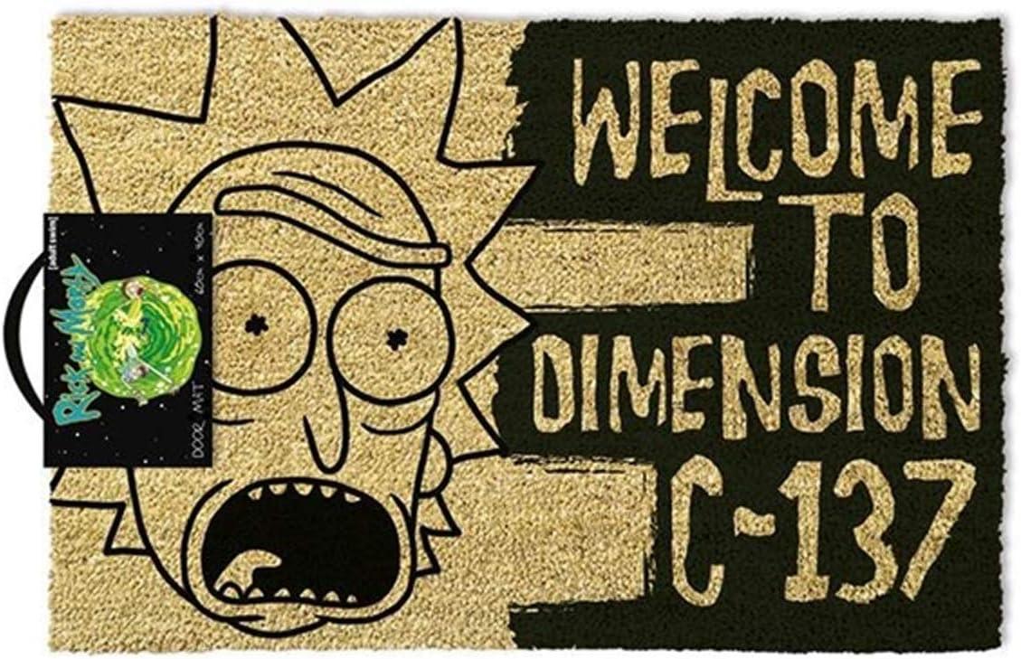 Felpudo de Rick y Morty