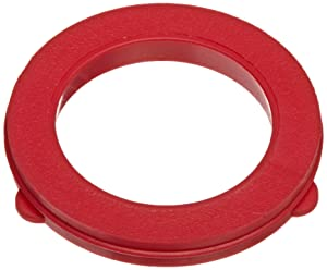 Dixon Valve & Coupling TVW7 Red Vinyl Tuff-Lite Washer for Garden Hose Fitting (Pack of 25)