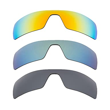 d1a7c046c1fd2 Image Unavailable. Image not available for. Color  Oil Rig Replacement  Lenses Yellow Black Iridium Green by SEEK fits OAKLEY