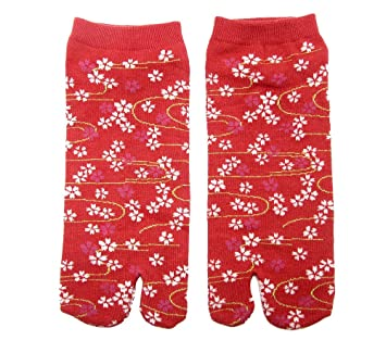 """Tabi calcetines """"kawaiidesu japonés Split 2 par Toe Ninja Geta Flip Flop Sandal Tobillo"""