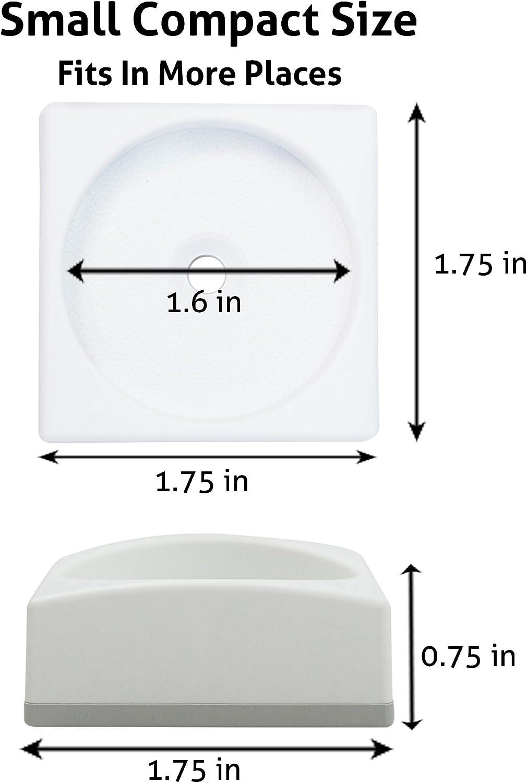 parfaite pour les portes discr/ète protection de murs pour barri/ères de s/écurit/é b/éb/é - fonctionne aussi pour les barri/ères danimaux Wall Nanny Mini lot de 4