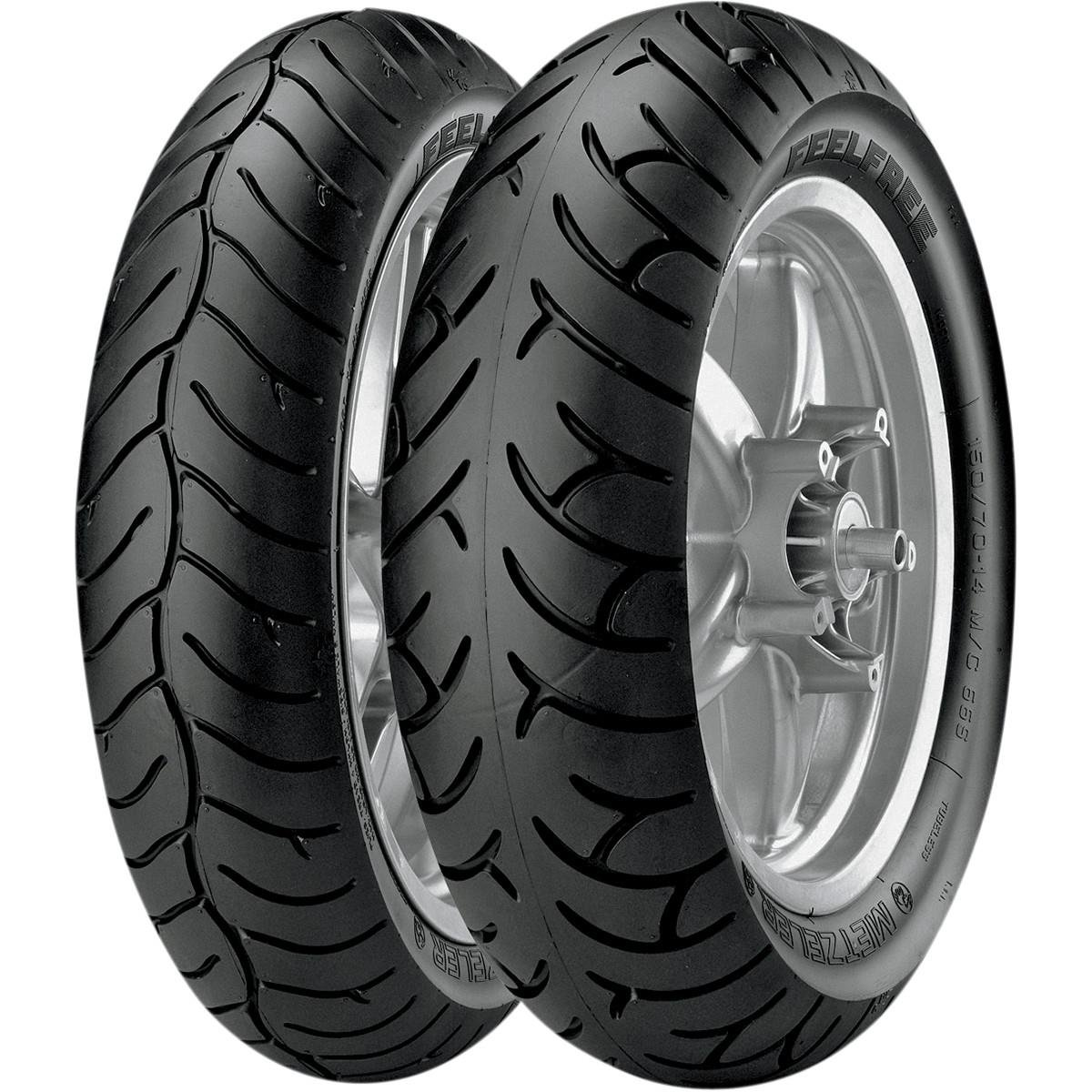 Metzeler Feelfree Tire - Front - 120/70R-15 , Position: Front, Tire Size: 120/70-15, Tire Type: Scooter/Moped, Rim Size: 15, Load Rating: 56, Speed Rating: H, Tire Construction: Radial 1816700