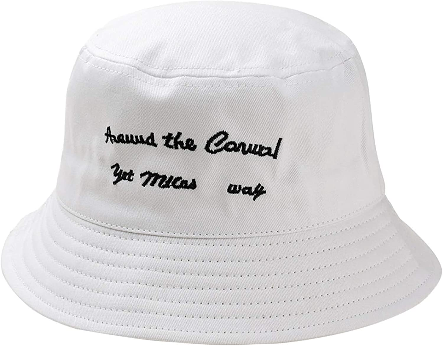Outdoor Hat Fisherman Hast Unisex Embroidery Letter Hat Fashion Wild Sun Protection Cap Cappello Pescatore