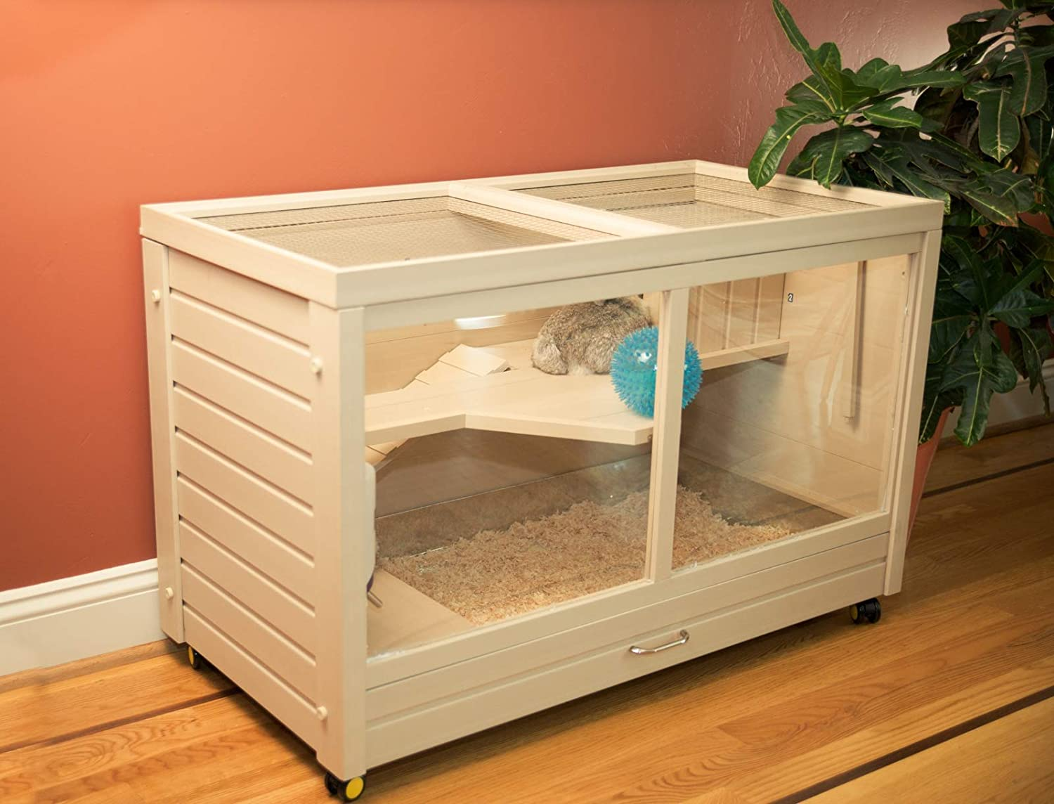 Maple ecoFLEX Indoor Rabbit Hutch
