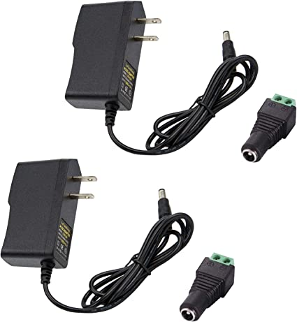 AC//DC New 9V 1000mA Power Supply Adapter for CCTV DVR Security Camera US Plug Taelectric
