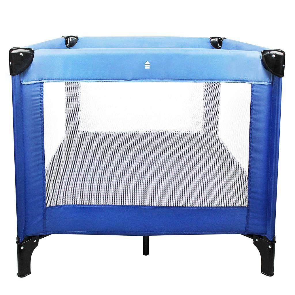Carga m/áxima: 25 kg Cuna Parque de Viaje Cuna de Viaje Bolsa de transporte 93 x 93 x 76 cm 1x Accesorios: Todeco Azul cielo//Azul marino Est/ándar del CE