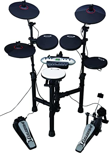 Carlsbro CSD130 Electronic Drum Set with Realistic Kick Pedal