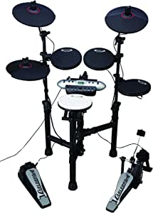 Carlsbro CSD130 Electronic Drum Set with Realistic Kick Pedal