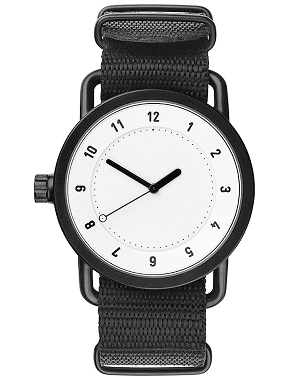 TID No.1 White-Black Nylon horloge 10110121
